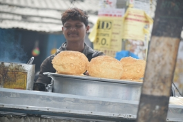 Bhature biggest I have seen